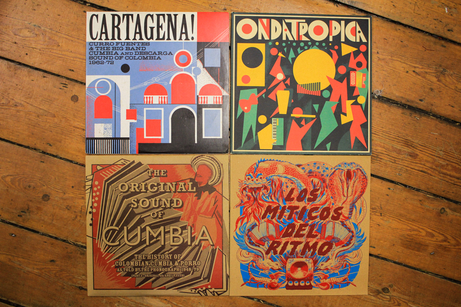 Cartagena!, Ondatropica, The Original Sound of Cumbia, Los Miticos Del Ritmo LPs (Soundway)