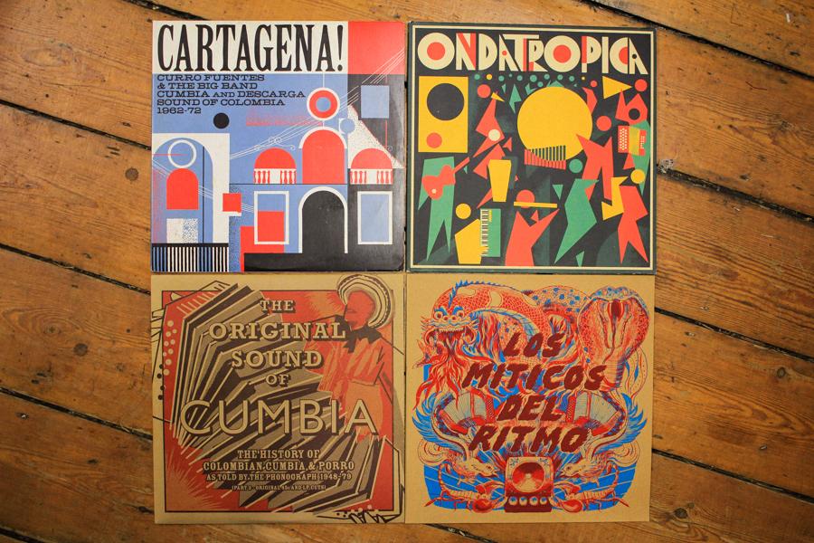 Cartagena!, Ondatropica, The Original Sound of Cumbia, Los Miticos Del Ritmo LPs (Soundway)