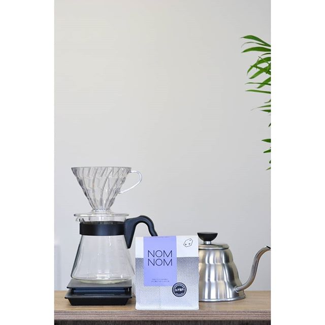**GIVEAWAY** To celebrate the release of our newest blend Nom Nom, we've teamed up with @brewedbyhand to give away a Hario V60 kit plus a bag of #NomNom ☕ To enter follow both @hundredhousecoffee and @brewedbyhand and tag a friend in this post . Winner announced Friday 15th. Good luck!!