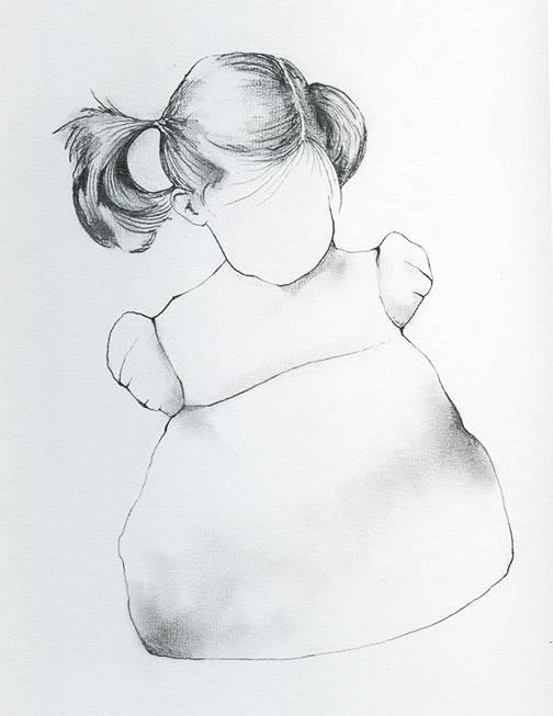 Graphite drawing used in digital prints  2011