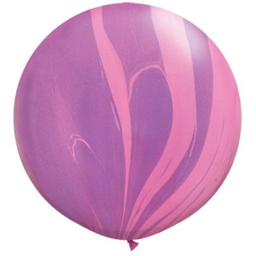 Jumbo Marble Balloons $6.00