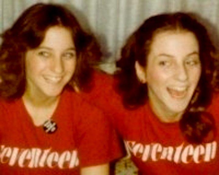 My sisters at 17.