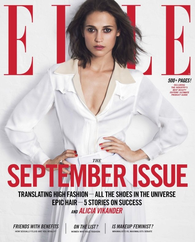 Robbie Myers' final September cover, closing an illustrious reign at Elle