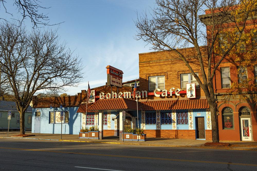 One of the more recent closures, The Bohemian Café.