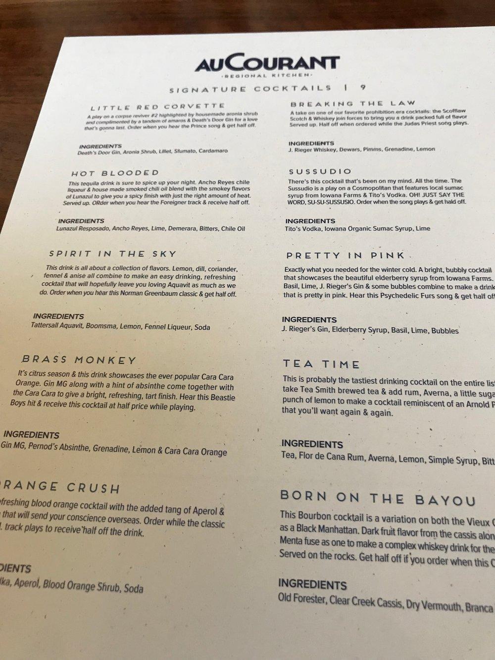 Au Courant drinks menu.jpg