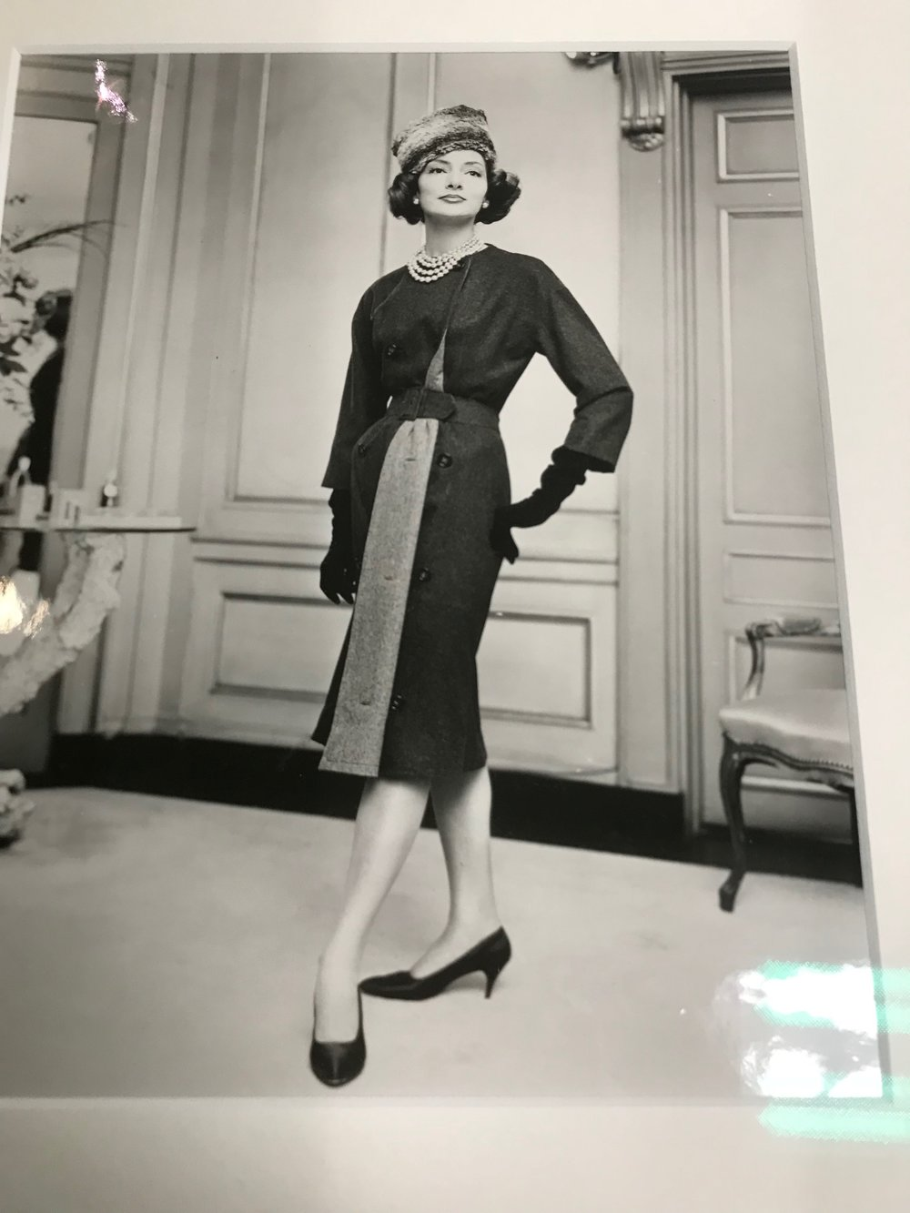 Trish Lonergan's aunt, Adele, a model whose designer clothing was the original inspiration for Esther's.
