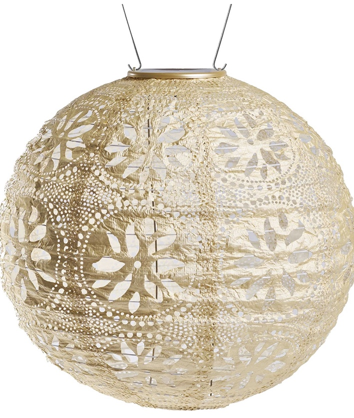 These  handmade solar lanterns  are so beautiful and durable. I long to populate my whole garden with them.