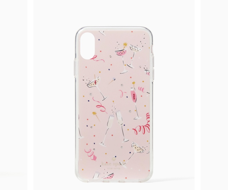 I know Midge didn't have a mobile, but if she did I think she'd sheath it in this bubbly case. Jeweled Champagne iPhone XS Max Case (also available for other versions), $50 at  Kate Spade .