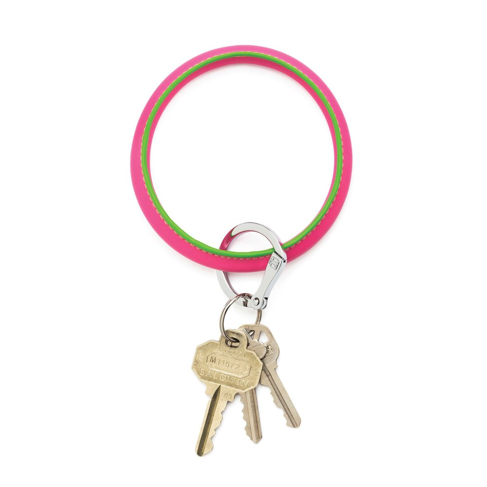 A classic six in Morningside Heights is nice, but this ingeniously stylish ring is for girls who want the key to the entire city. Big O Key Rings, available in multiple colors, finishes and prices at  O-Venture.com  or at  Gramercy  and  Garment District  in Omaha.