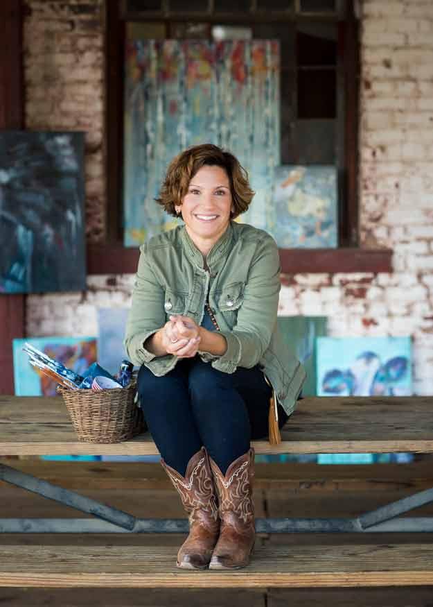 Atlanta artist Pam Neill
