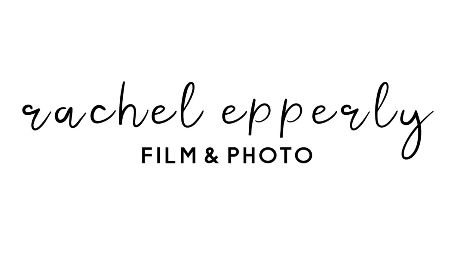 Wedding Videography and Photography | Rachel Epperly Media