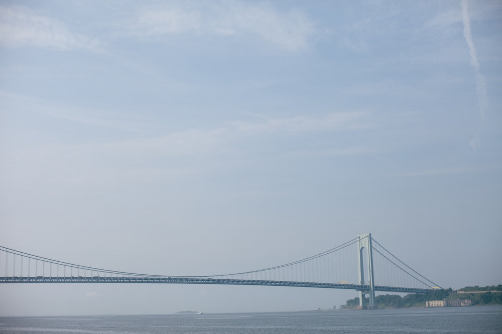 The best bridge in NYC, The Verrazano Narrows.