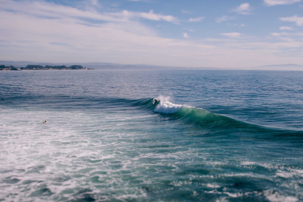 I will be dreaming of Santa Cruz for weeks.    Santa Cruz, CA - January 2015.