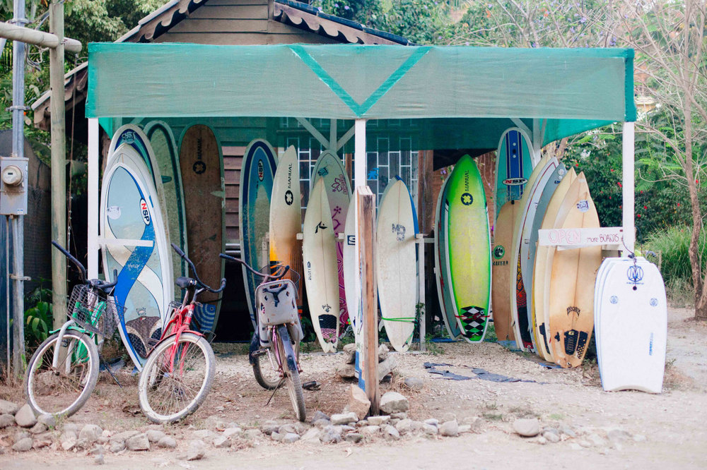 Board shop. Costa Rica - April 2014.