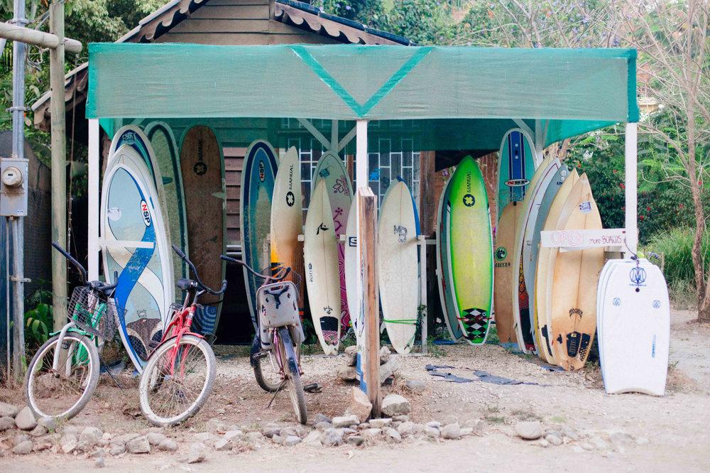 Board shop. Costa Rica - April 2014.