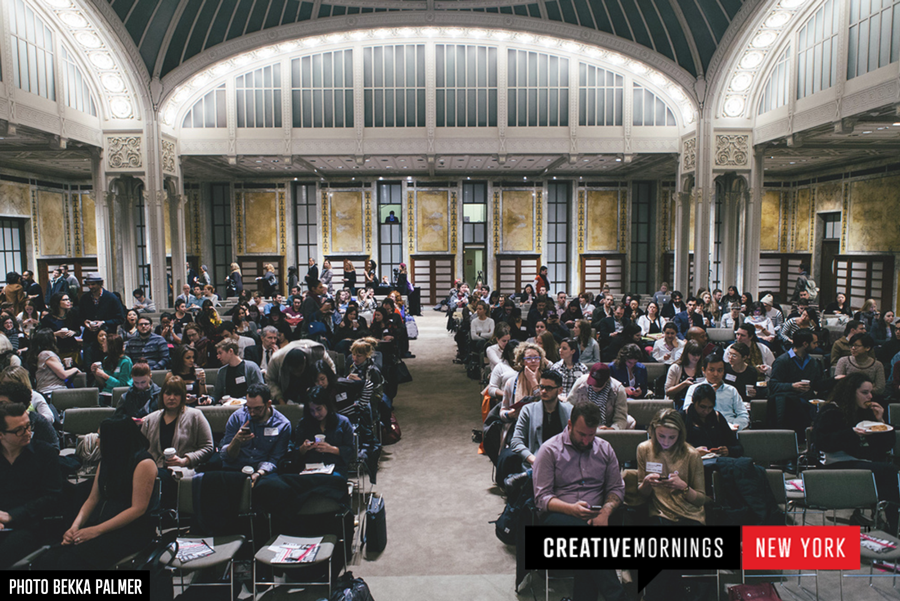 creativemornings: Our New York chapter hosted their February event at the New York Public Library where Nancy Mahon of the MAC AIDS Foundation and Viva Glam campaign spoke on how one lipstick is changing the face of HIV/AIDS. A worthy watch. →