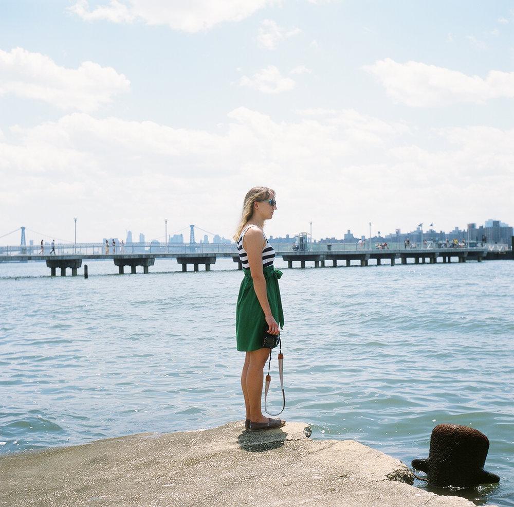 Adventure day with June! junebugkim: Bekka Palmer, Greenpoint to Manhattan.