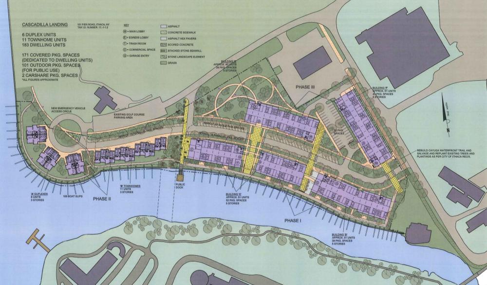 Cascadilla landing Site Plan.png