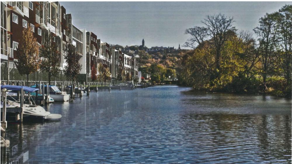 Cascadilla Landing image on water.png