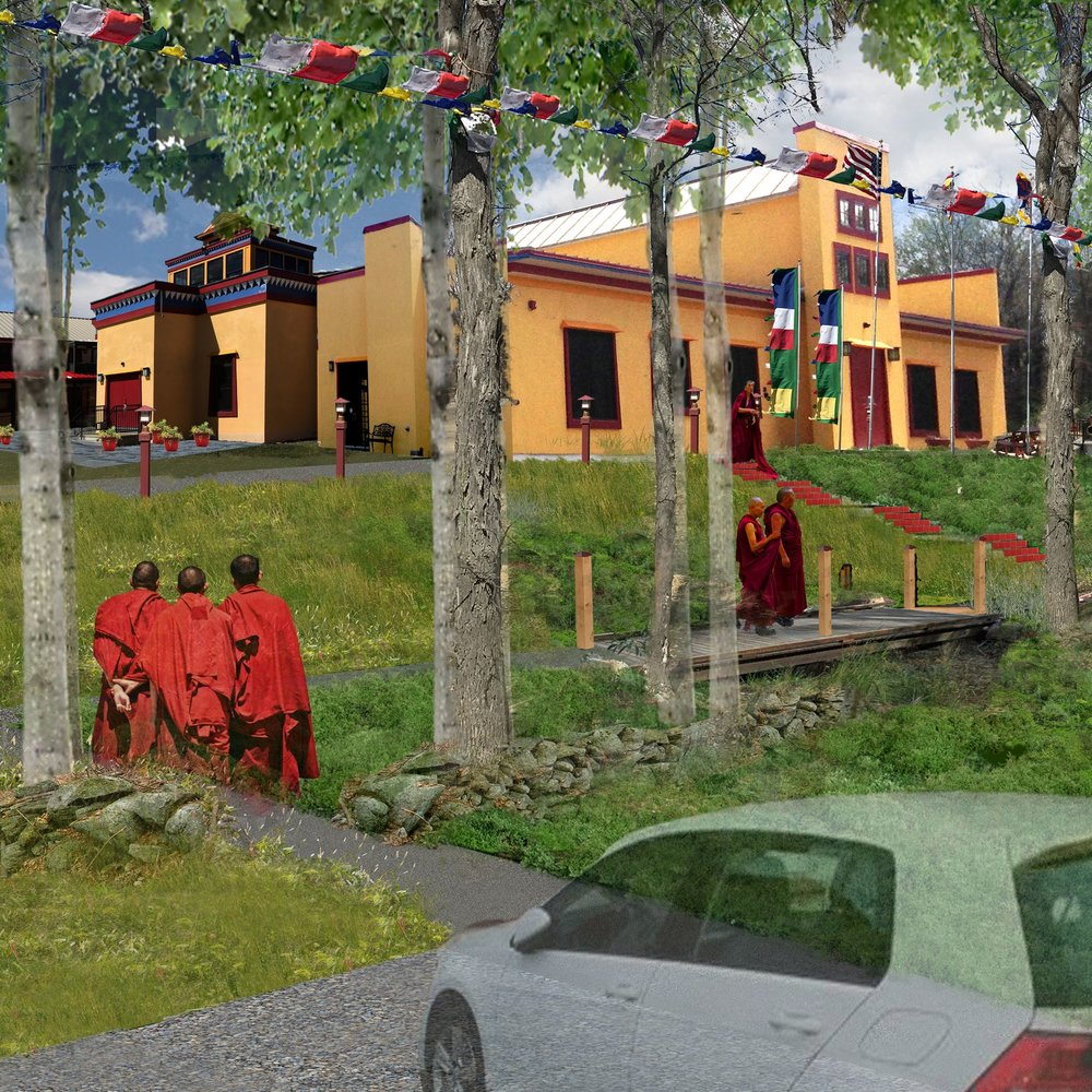 Namgyal Monastery |  Landscape Architecture