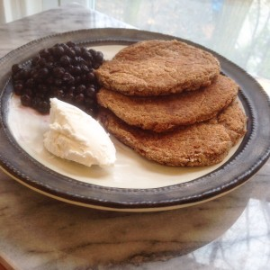 Tigernut flour pancakes