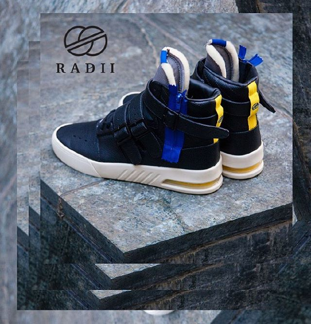 "FA18 // Straight Jacket Plus in ""Raven"" black leather still have a few sizes left // Get them now on radiifootwear.com #RADII #INDIVIDUALITY #DEFINEYOURSELF"