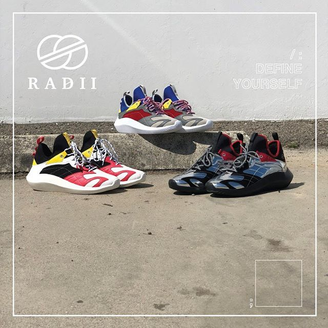 SP19 // Debuting all the new product you'll be rocking in 2019 // www.radiifootwear.com for all shoes available now #RADII #DEFINEYOURSELF