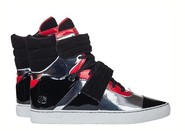 1 of 1 // The mirror red black Cylinders were only made in one pair ever // Buy the only pair now on radiifootwear.com #RADII #DEFINEYOURSELF