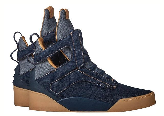 1 of 1 // On radiifootwear.com now // The Canadian tuxedo Prism with gum sole #RADII #DEFINEYOURSELF