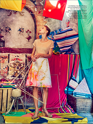 Anthropologie : April 2015 : Photographer : Boe Marion