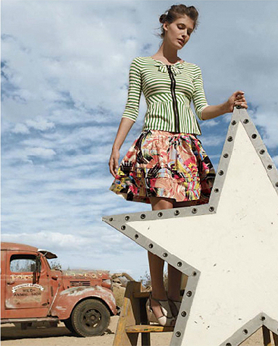 Anthropologie : February 2010 : Photographer : Koto Bolofo