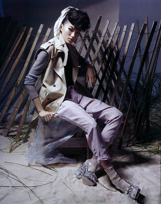 China Vogue : August 2009 : Photographer : Raymond Meier