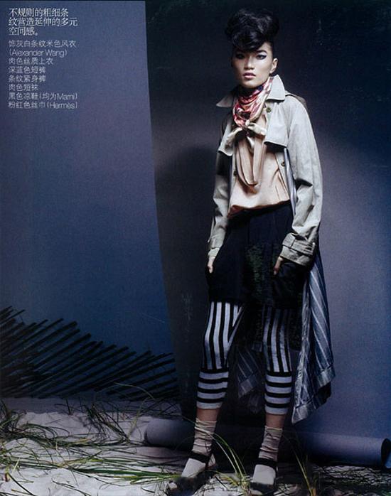 China Vogue : August 2009 : Photographer : Raymond Meier