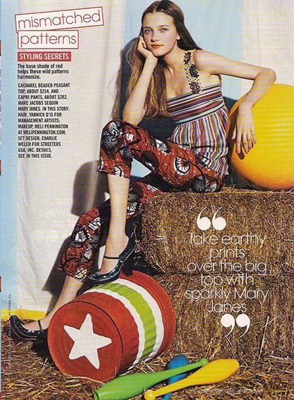 een Vogue : April 2005 : Photographer : Patrick Demarchelier