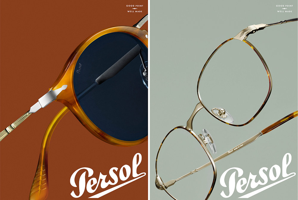 Persol : Autumn 2018 : Photographer : Greg Broom