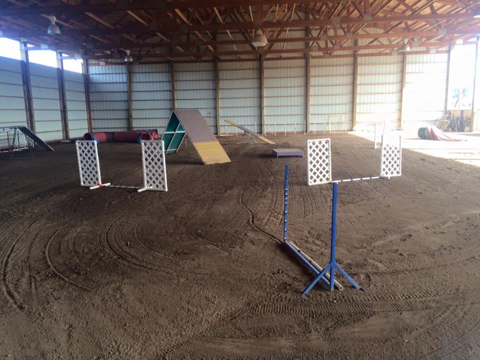 Desert Sage Agility's indoor arena