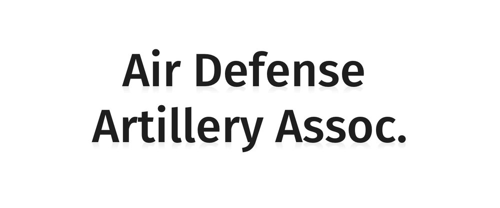 Air Defense Artillery Assoc.