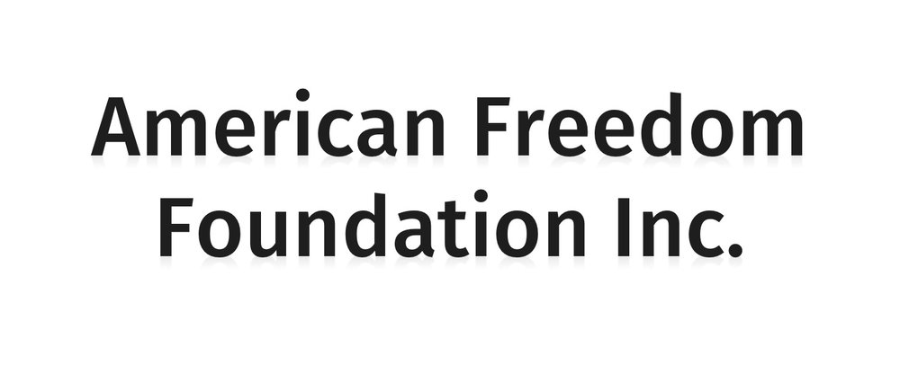 American Freedom Foundation Inc.