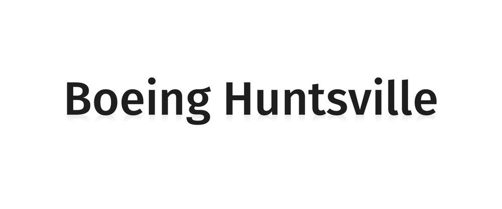Boeing Huntsville