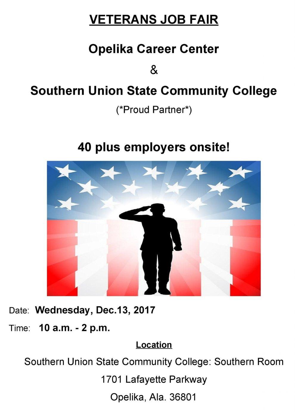 12132017 SUSCC ALDOL Veterans Job Fair Flyer.docx Page 001