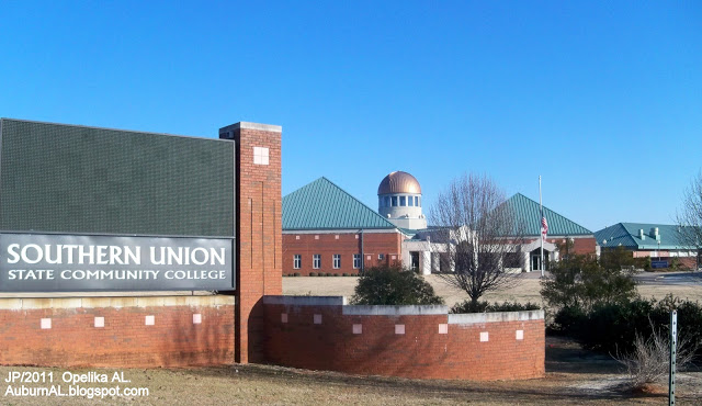 Southern Union State Community College Sign Opelika Alabama School Campus,Lee County AL. - Copy.JPG
