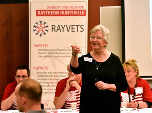 "Click to read Redstone Rocket article ""Veterans group serves those who have served"" by Katie Davis Skelley   Photo credit: Bryan Bacon, Redstone Rocket"