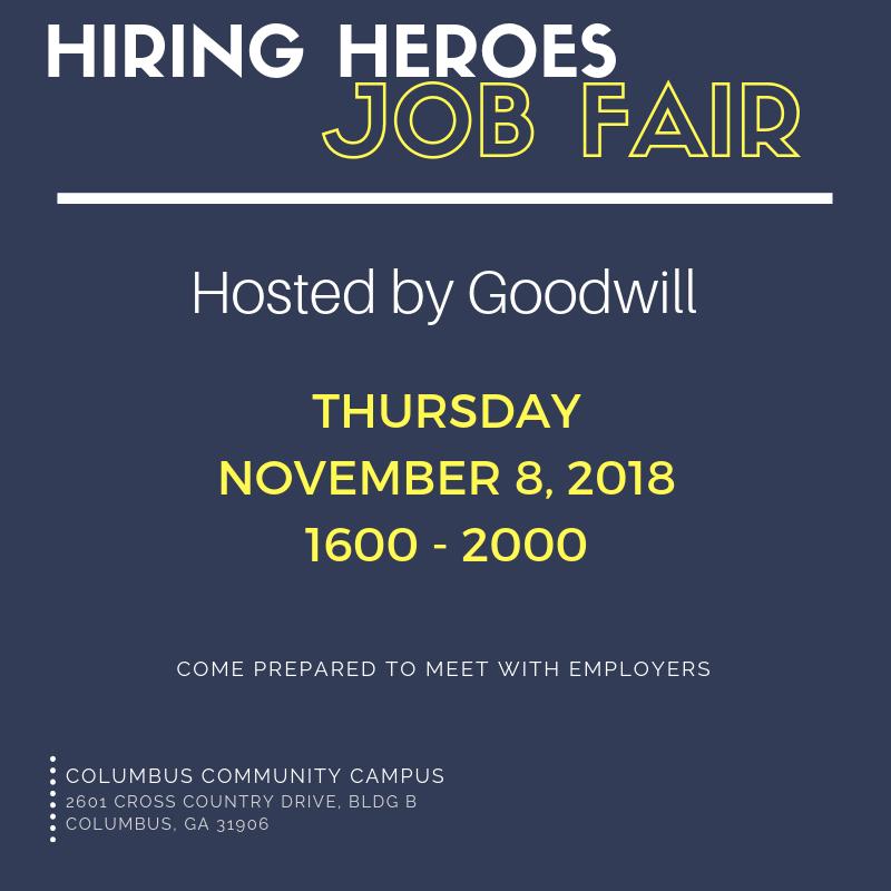 Goodwill Hiring Heroes Job Fair
