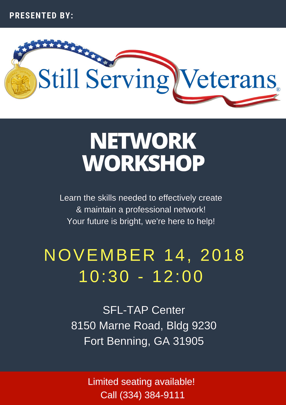 SSV Networking Workshop Flyer