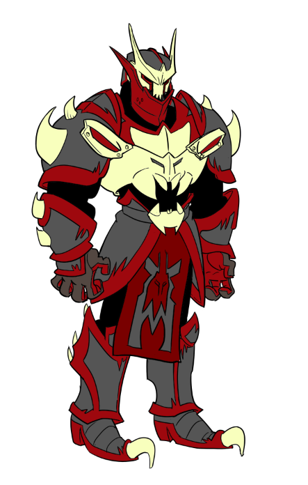 Demon Knight Armor