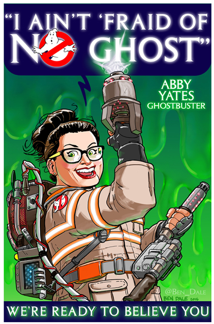Ghostbusters Fan Art Contest Entry