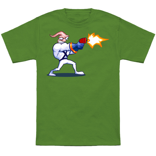 EARTHWORM JIM Based on the classic SNES sprite from Earthworm Jim. Apparel and products at TeePublic. Even more apparel options at NeatoShop.