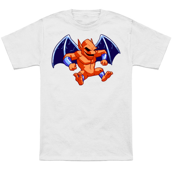 FIREBRAND     Based on the classic sprite from Capcom! Apparel and products available at  TeePublic.    Even more apparel options at   NeatoShop  .