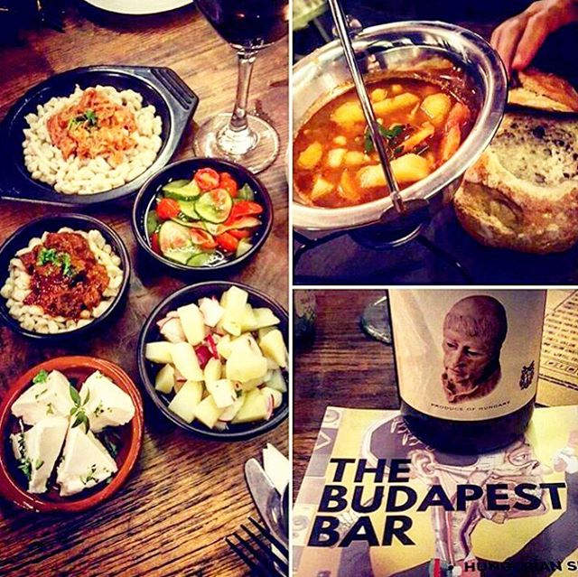 Well, she def tried a few tapas dishes @thebudapestbar 😋 Regram by @samanthasile | Many thanks for choosing us and for all the lovely pictures you took 👌  #eastlondon #bethnalgreen #popupbar #popuprestaurant #winterfood #hungarian #tapas #instafood #placestoeat  #londonnights #wine #foodporn #foodpics #restaurant #warming #foods #thingstodoinlondon #tapasbar #londontapas #goulash #gulyas #goulashsoup #stew #chicken #smallplates #xmas #winter #popup #mysecretlondon