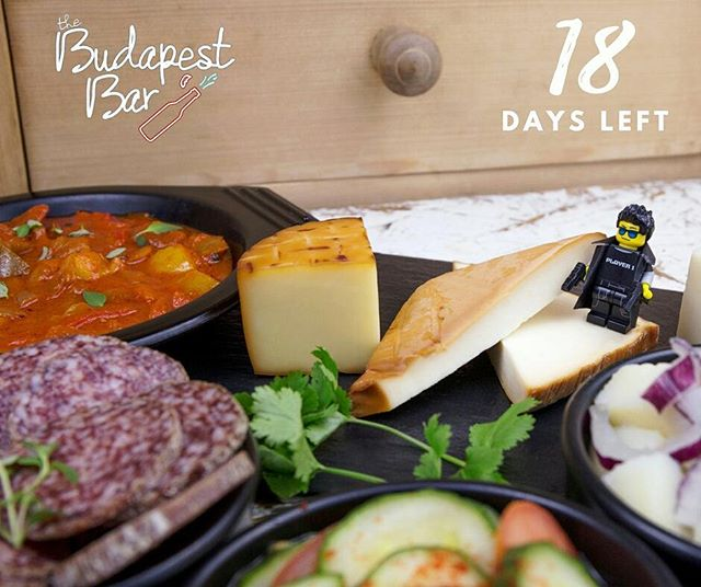 Wooow time really flies 💫 Only 18 days left until we close @thebudapestbar pop-up. Book the last tables at pasta-n-goulash.co.uk before 22 December and have an unforgettable dinner with us 😋😋😋😋 . .. ... #endcredits #lastchance #thebudapestbarandkitchen #popup #hungarian #restaurant #ends #22 #december #closes #closing #smallplates #popuprestaurant #popupbar #tapasbar #londonrestaurant #foodie #spot #hungarianfood #translated #tapas #18days #left #legoart #eastlondon #yummmmm #dinners #exciting #food #londonpopups PHOTO BY NIKOL GABROVSKA LEGO THEME BY @hughgary_photography 'Legomentary'